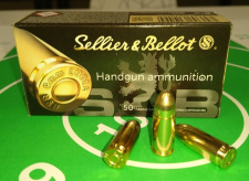 9 mm, 9x19 Luger, SELLIER&BELLOT