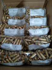9 MM LUGER FMJ 124 GRS.  PERTAISYTI (RELOAD)
