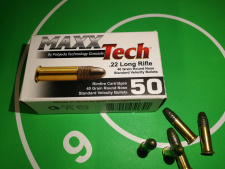 .22 LR/40 grs, MAXX Tech