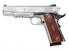 "Pistoletas SMITH & WESSON  Mod. SW1911 E Series Tactical Rail 5"" .45ACP Inox"