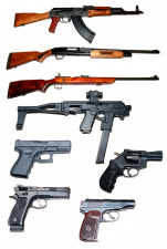 Extreme shooting with various combat weapons III