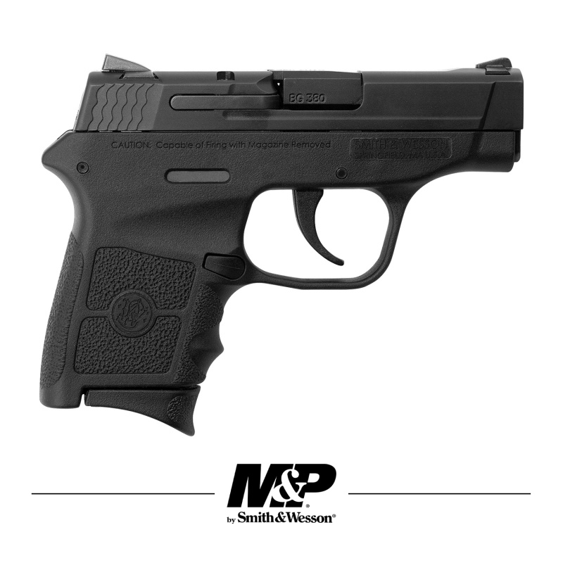 PistoletasSMITH & WESSON Mod. M&P Bodyguard 2-3/4' . 380ACP Black