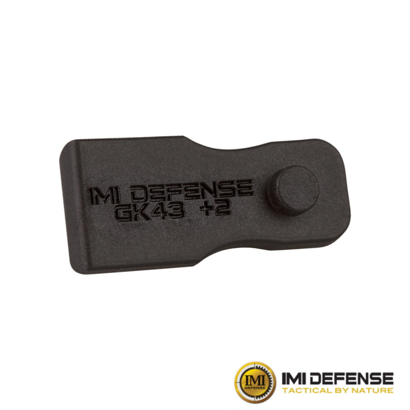 Glock 43 +2 Magazine Extension, IMI DEFENSE